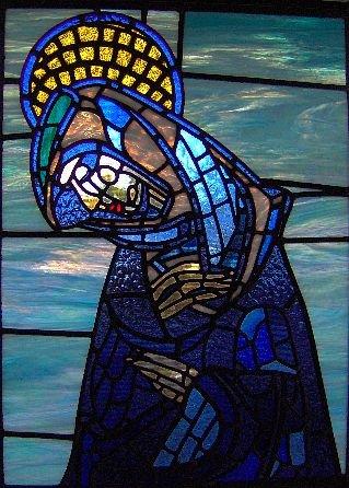 Contemplative Mary
