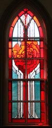 Elizabeth Steinebach Donates Stained Glass Window Image